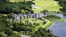 If a night in Ireland's Ashford Castle won't cut it, $33-million gets you the entire 13th-century estate. (Ashford Castle)
