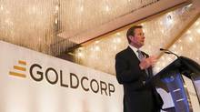 Goldcorp CEO Chuck Jeannes says the mining company is 'on the right track.' (© Ben Nelms/REUTERS)