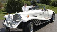 Alberta-resident Randy Hill owns a 1978 Series 1 Clénet that was previously owned by pop star Rod Stewart.