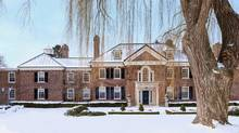 Conrad Black's home at 26 Park Circle Lane in Toronto is shown in a handout photo. Black will continue living in the mansion after selling the property last week for an undisclosed price. (THE CANADIAN PRESS)