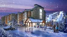 Slopeside Condos will have 44 whole-ownership units, each with identical 1,188-square-foot plans that include two bedrooms.