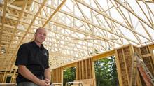 When New Brunswick home builder Pierre Martell went into business eight years ago, he was aware of the industry's poor reputation for customer service, so he aimed to change it. (Brian Atkinson for the GLOBE AND MAIL)