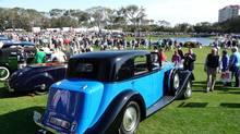 1936 Rolls-Royce Phantom III Sedanca de Ville at Amelia Island (Reg Beer Coachbuilders)