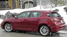 2011 Lexus CT200h (Ted Laturnus for the Globe and Mail)