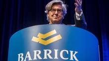 Barrick Gold chairman John Thornton's $12.9-million (U.S.) compensation for 2014 did not go down well with investors. (MARK BLINCH/REUTERS)