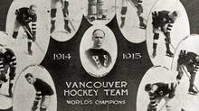 In 1915, the Vancouver Millionaires knocked off Ottawa in three games at Denman Arena in Vancouver. (Hockey Hall of Fame/Hockey Hall of Fame)