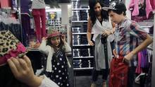 BR Pirri, a personal shopper and style adviser, suggests talking to your kids about what they want before going to the mall. (Laura Leyshon for the Globe and Mail)