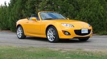 Mazda MX-5 Miata ($28,995-$39,995) (Bob English for The Globe and Mail)