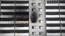 The fire at 200 Wellesley St. E. was the most costly in the history of the public-housing agency. (Moe Doiron/The Globe and Mail)