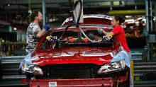 Ford assembly line in Illinois (Scott Olson/2009 Getty Images)