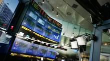 A general view of the TSX Broadcast Centre in Toronto. (MARK BLINCH/Mark Blinch/REUTERS)