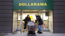 Dollarama plans to open more stores this year in head off increased competition. (Kevin Van Paassen/The Globe and Mail)