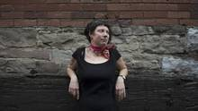 Emily Schultz, seen in Toronto on March 20, departs from the light, playful tone of her previous novel with Men Walking on Water, a weighty tome set in the Prohibition era. (Fred Lum/The Globe and Mail)
