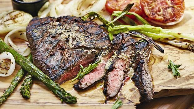 Steak - Magazine cover