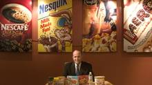 Nestlé Canada's former CEO Bob Leonidas is seen in this 2006 file photograph. (Ken Armstrong/The Globe and Mail)