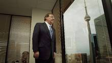 Gerald Soloway, CEO of Home Capital is seen in his Toronto office on May 13, 2010. (JENNIFER ROBERTS For The Globe and Mail)