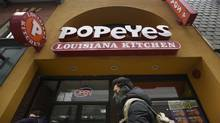 Popeyes location on Yonge St. near Dundas Square, Toronto. (Fred Lum/The Globe and Mail)