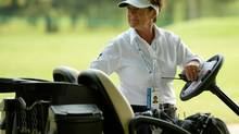 Diane Barabe is the first female rules official from Quebec to officiate at the Canadian Open men's championship (Bernard Brault/GOLF CANADA)
