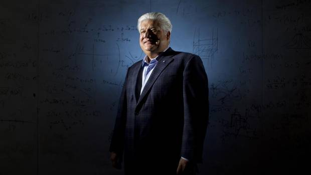 RIM co-founder, Mike Lazaridis, is photographed at the Institute for Quantum Computing in Waterloo, Ont., on March 28, 2013. (Peter Power/The Globe and Mail)