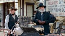 Kiefer Sutherland as John Henry Clayton and Donald Sutherland as Rev. (Dan Power)