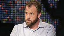 """Author James Frey appears on """"Larry King Live"""" to discuss allegations of fraud in the writing of his memoir, """"A Million Little Pieces"""" on CNN Wednesday night, Jan. 11, 2006, in New York. (EDWARD M. PIO RODA/AP)"""