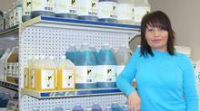 """Marlene Luck says she would really like to do more business with Fort McMurray's oil sands companies. But getting a foot in the door won't be easy; she says she will need to retain the services of consultants or procurement experts who specialize in the industry. """"I would love to introduce our green products to the industry and show them that they can move to being green while achieving significant cost savings."""" (Northern Canadian Supplies Ltd.)"""