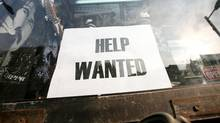 Help wanted sign (Charla Jones)
