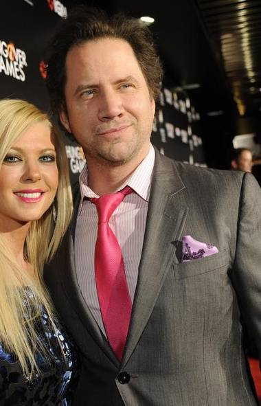 Let's kick off with the bottom-feeders. Shall we? The premiere of the low-budget comedy The Hungover Games in Los Angeles attracted such luminaries as Sharknado star Tara Reid and the once-promising comedic actor Jamie Kennedy. The poor guy really couldn't go much lower in chasing a photo op, right? (Chris Pizzello/AP)