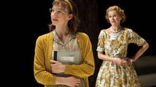 Bethany Jillard and Chick Reid in The Little Years at Tarragon Theatre.