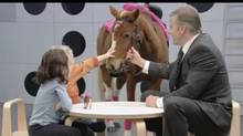 In Canada, Ally was also known for unconventional television commercials that mocked its own industry with scenarios in which children are subject to arbitrary and unfair rules. (YouTube)