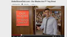 Dollar Shave Club YouTube video that went viral (YOUTUBE.COM)