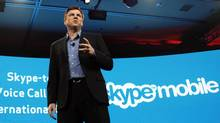 Skype Chief Executive Tony Bates speaks at the Verizon press conference on the opening day of the Consumer Electronics Show (CES) in Las Vegas January 6, 2011. (Rick Wilking/Reuters/Rick Wilking/Reuters)