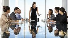 There are simply not a lot of women in senior positions in all of business, and finance to a great extent mirrors that reality. (istockphoto)