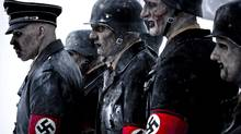 A scene from Dead Snow, the story of a group of Norwegians vacationing in Axefjord, the mountainous territory of a Nazi zombie battalion.