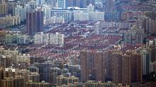 Homes in Shanghai's Puxi district were included in the Chinese government's pilot project in property taxation, initiated three years ago in an effort to lower housing prices and reduce speculation. (Carlos Barria/REUTERS)