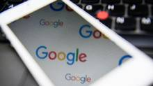 The Google logo is seen in this file photo. (LEON NEAL/AFP/Getty Images)