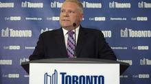 Toronto councillor Doug Ford, is pictured in Toronto on May 1, 2014. (Darren Calabrese/THE CANADIAN PRESS)