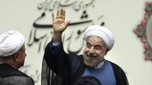 Iranian President Hasan Rouhani, shown Aug. 4, 2013. (EBRAHIM NOROOZI/ASSOCIATED PRESS)