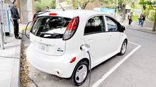 2012 Mitsubishi iMiEV (Michael Bettencourt for The Globe and Mail)