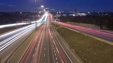 Toronto Highway at night (Harkamal Nijjar/Getty Images/iStockphoto)