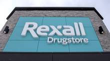 A Rexall drugstore is shown in Ottawa, on Wednesday, March 2, 2016. National drugstore chain Rexall Health is being sold to U.S. health care giant McKesson Corp. as part of a $3-billion deal, the two companies announced Wednesday, March 2. THE CANADIAN PRESS/Justin Tang