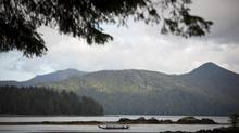 Out for a ride in Gwaii Haanas National Park Reserve in British Columbia. (John Lehmann/The Globe and Mail)
