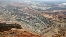 An Equinox copper mine is seen in Lumwana, Zambia, in this aerial view undated handout obtained by Reuters on April 4, 2011. Minmetals Resources, China's biggest metals trading firm, on Monday offered $6.5 billion to buy Equinox Minerals, chasing the target company's copper assets in Zambia and Saudi Arabia. (REUTERS)