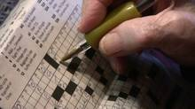 New study shows doing crosswords and other puzzles may delay the onset of memory loss and dementia (Kevin Van Paassen)