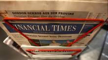 Germany has proven relatively immune to the forces that have shuttered newspapers in many other developed countries, but that is now changing, as the struggles of Financial Times Deutschland and others have made clear. (KAI PFAFFENBACH/REUTERS)