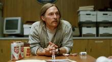 Matthew McConaughey plays Rust Cohle in HBO's crime series True Detective.