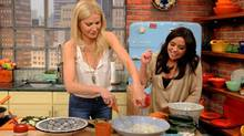 Cookbook author Gwyneth Paltrow on The Rachael Ray Show. (David M. Russell/The Associated Press)