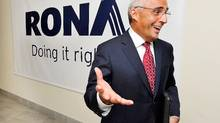 Rona president and CEO Robert Dutton (Graham Hughes/The Canadian Press)