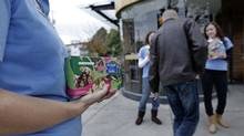 A Victoria Girl Guide and her mother have launched a petition to have GMOs removed from Girl Guide cookies. (Lyle Stafford for The Globe and Mail)