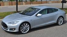 Tesla S (Michael Bettencourt for The Globe and Mail)